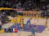 Hornets - Lakers du Mardi 6 Janvier... video nba clip video basket street basketball