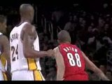 Nicolas Batum Posterize Pau Gasol video nba clip video basket street basketball